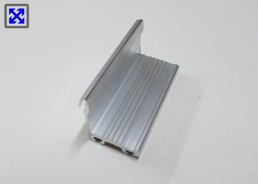 Custom Made Mill Finished Aluminum Angle Profile For Corner Connecting